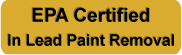 EPA Certified Lead Paint Removal